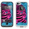 Skin Decal for LifeProof FRE Apple iPhone SE Case - Zebra Woman