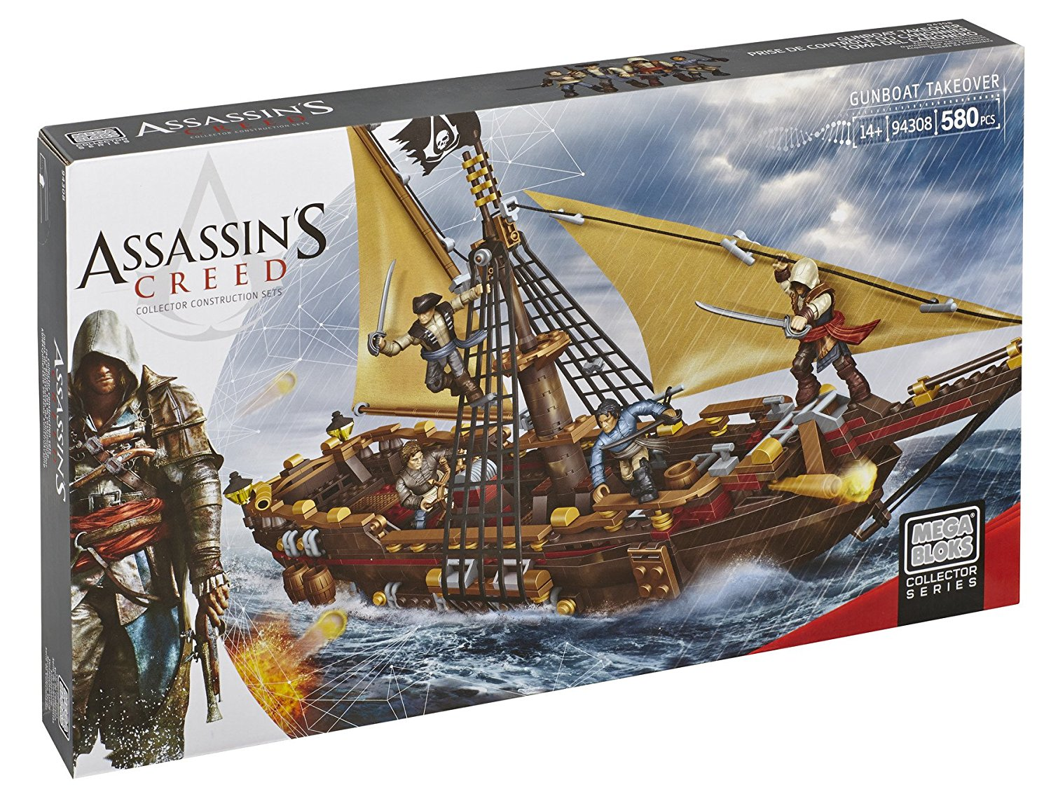 Assassin's Creed Gunboat Takeover, One Assassin Edward and three allied forces micro... by