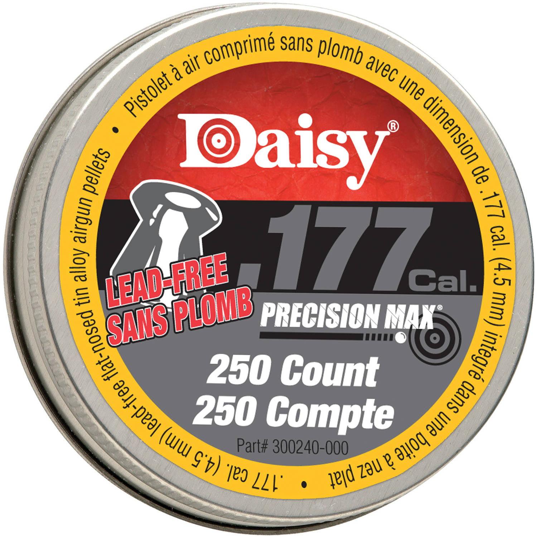 "Daisy .177 Cal. Flat Nose ""Lead Free"" Pellets, 250 Tin by Daisy"