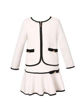 Richie House Girls' Elegant Suit with Skirt RH1963
