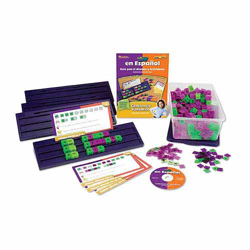 Learning Resources Spanish Reading Rods Kit: Conciencia Fonemica