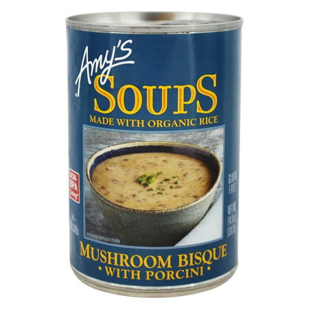 Amy's Soups Mushroom Bisque with Porcini, 14 oz