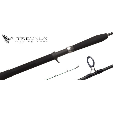 Shimano Trevala JIGGING Casting Rods (TVC70L, Black) medium fast (Action Casting Rod)
