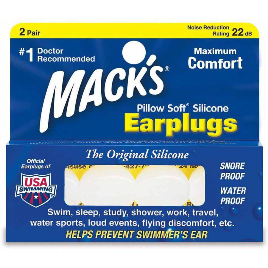McKeon Products Macks  Earplugs, 2 ea