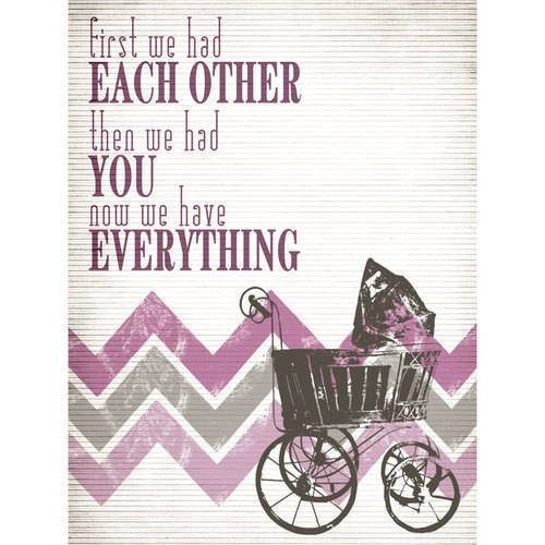 Oopsy Daisy - Have Everything - Pink Canvas Wall Art 18x24, Fancy That Design House & Co