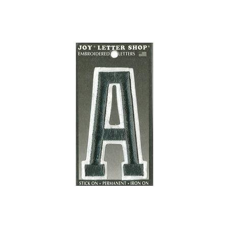 Joy Iron Letters - Joy Applique Letter Iron On Varsity 3