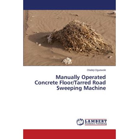 Manually Operated Concrete Floor/Tarred Road Sweeping