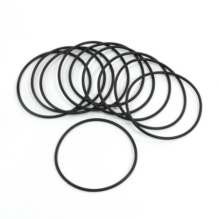 42 mm Diamètre extérieur épaisseur 1.5 mm en caoutchouc huile Joint d'étanchéité O Ring Joint d'étanchéité Lot de 10 - image 1 de 1