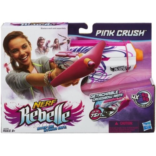 Nerf Rebelle Pink Crush Blaster