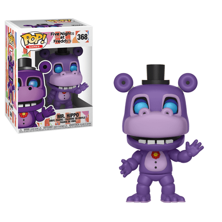 Funko POP Games: Five Nights at Freddys 6 Pizza Sim - Mr. (Five Nights At Freddys Sister Location Juego)
