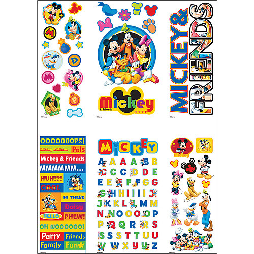 Disney Value Sticker Set, Mickey and Friends
