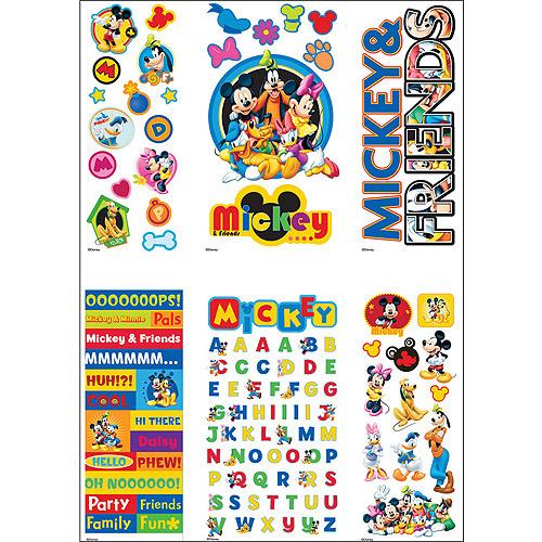 Disney Value Sticker Set, Mickey and Friends