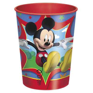 Mickey Mouse Clubhouse 16 oz Plastic Cup](Mickey Mouse Plastic Cups)