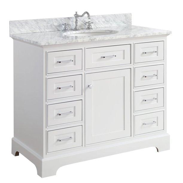 Aria 42 Bathroom Vanity Walmart Com Walmart Com