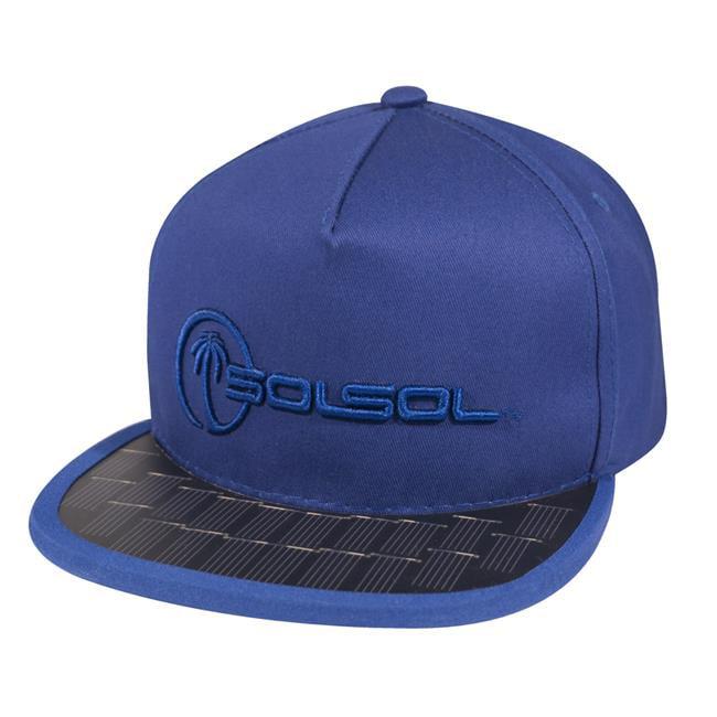 SOLSOL SS104 Poweraid Solar Hat Collection - Royal