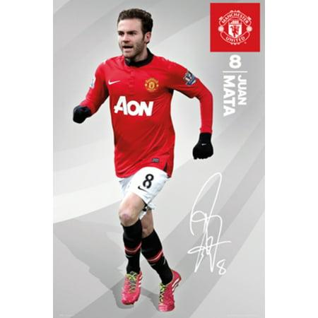 Juan Mata Halloween (Manchester United Juan Mata Football Soccer Sports Poster 24x36)