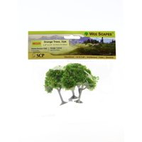 Architectural Model Trees Orange Trees, 2 1/4 in. - 2 1/2 in., pack of 3 (pack of 3)