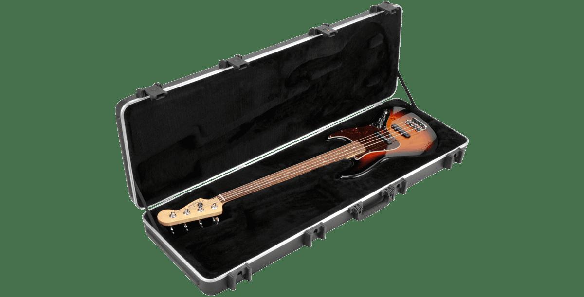 SKB 1SKB-44PRO Pro Rectangular Electric Bass Case by SKB