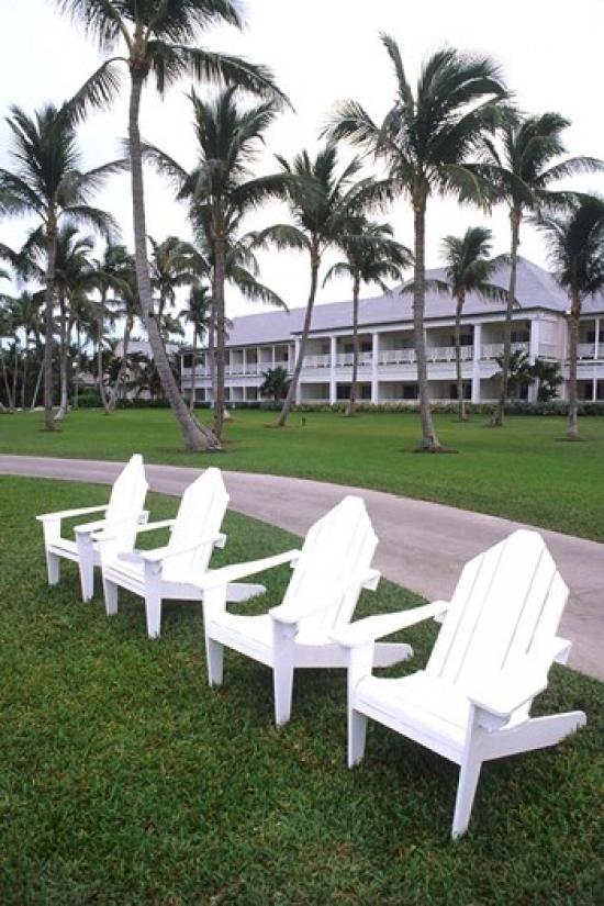 Adirondack Chairs Ocean Club in Paradise Atlantis Resort Bahamas Canvas Art Bill Bachmann DanitaDelimont (24 x 36) by Supplier Generic