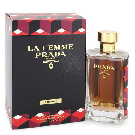 La Femme Prada Absolu by Prada Eau De Parfum Spray 3.4 oz for Women La Femme Prada Absolu Perfume by Prada