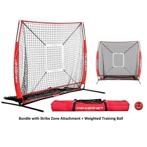 PowerNet 5x5 Baseball Softball Hitting Net