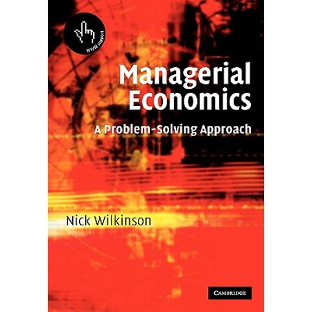 managerial economics solved problems