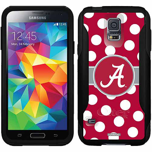Alabama Polka Dots Design on OtterBox Commuter Series Case for Samsung Galaxy S5