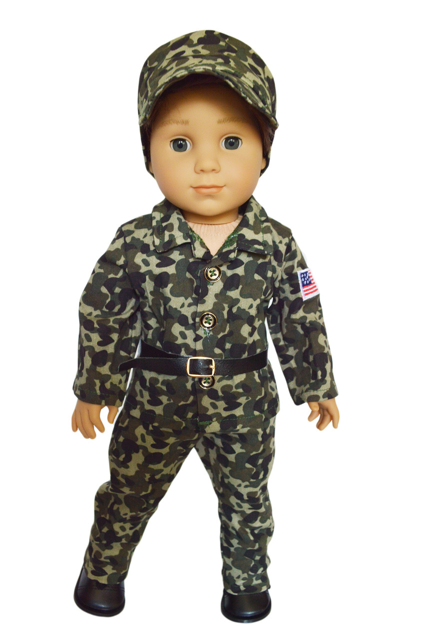 My Brittany's Army Outfit for 18 Inch Dolls Fits American Girl Dolls- Doll clothes only by