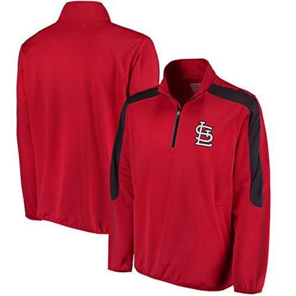 St. Louis Cardinals Synergy Half -Zip Pullover Jacket by G-III Sports