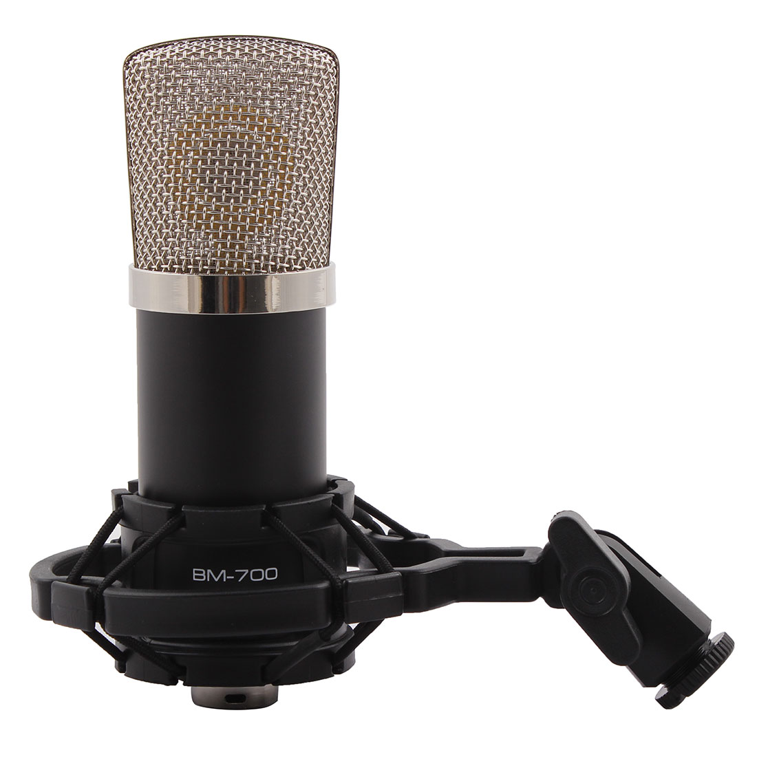 BM-700 3.5mm Wired Sound Recording Microphone for Karaoke Singing by Unique-Bargains