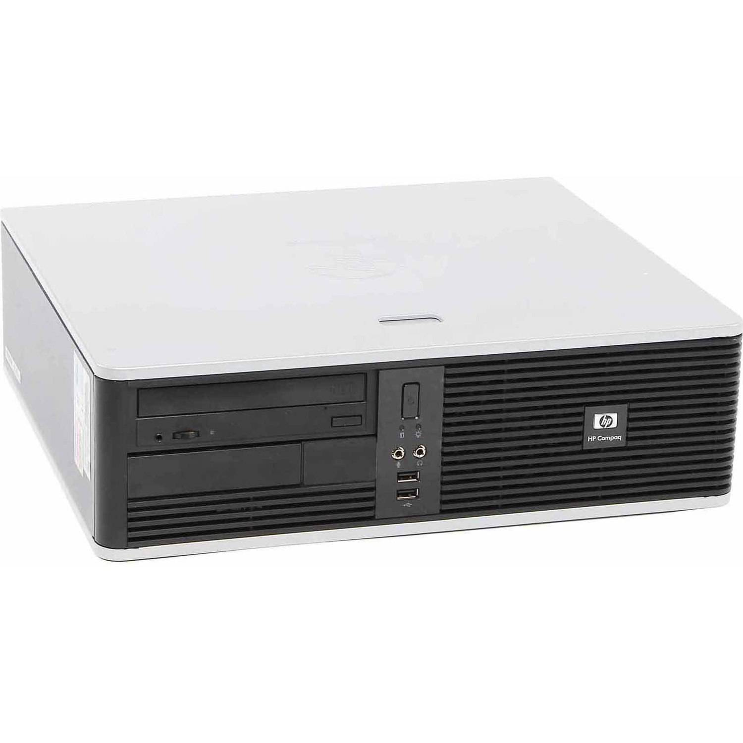 Refurbished HP DC5700 Desktop PC with Intel Core 2 Duo Processor, 4GB Memory, 750GB Hard Drive and Windows 7 Home Premium (Monitor Not Included)