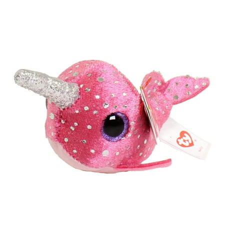 TY Beanie Boos - Teeny Tys Stackable Plush - NELLY the Narwhal (4 inch)