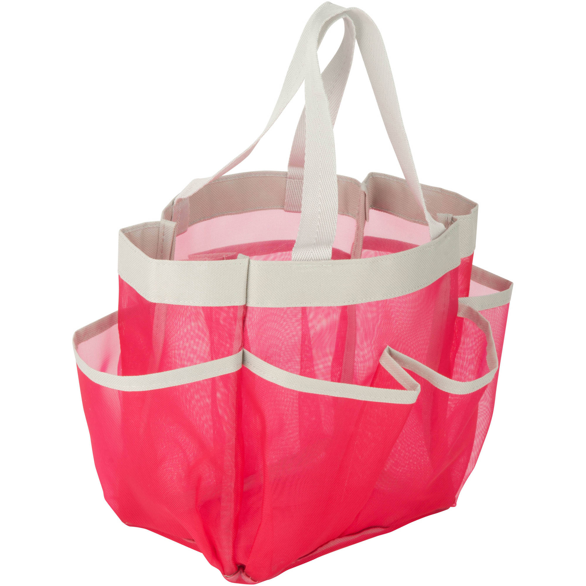 Honey Can Do Quick Dry Shower Tote with Handles, Multicolor ...