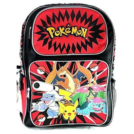 Backpack - Pokemon - Pikachu Plusle & Minun 16