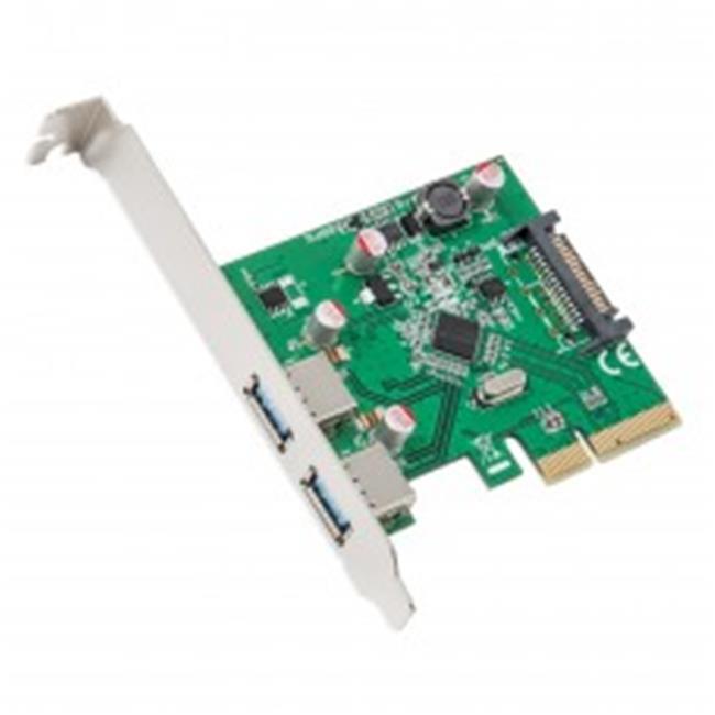 2 Port USB3.1 Type A PCI-E 3.0 x4