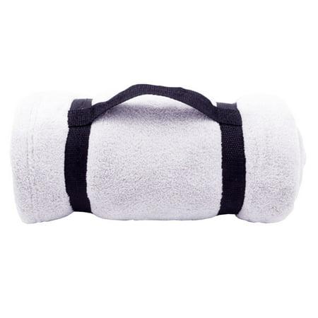 Luxury Soft Cozy Fleece Sofa Convenient Throw Blanket for airplane outdoor,