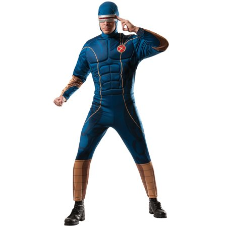Marvel X-Men Cyclops Adult Costume Men Xlarge (Cyclops X Men Costume)