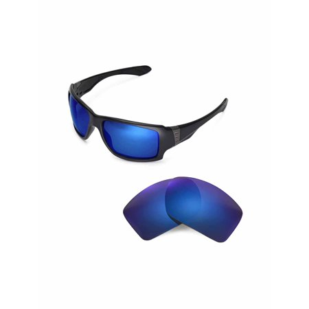 d2c247f32d8 Walleva - Walleva Ice Blue Replacement Lenses for Oakley Big Taco Sunglasses  - Walmart.com