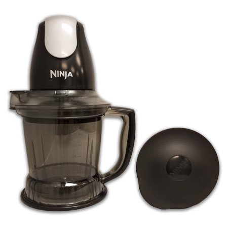 Refurbished Ninja QB751Q 450 Watts Prep - Black And Red Ninja