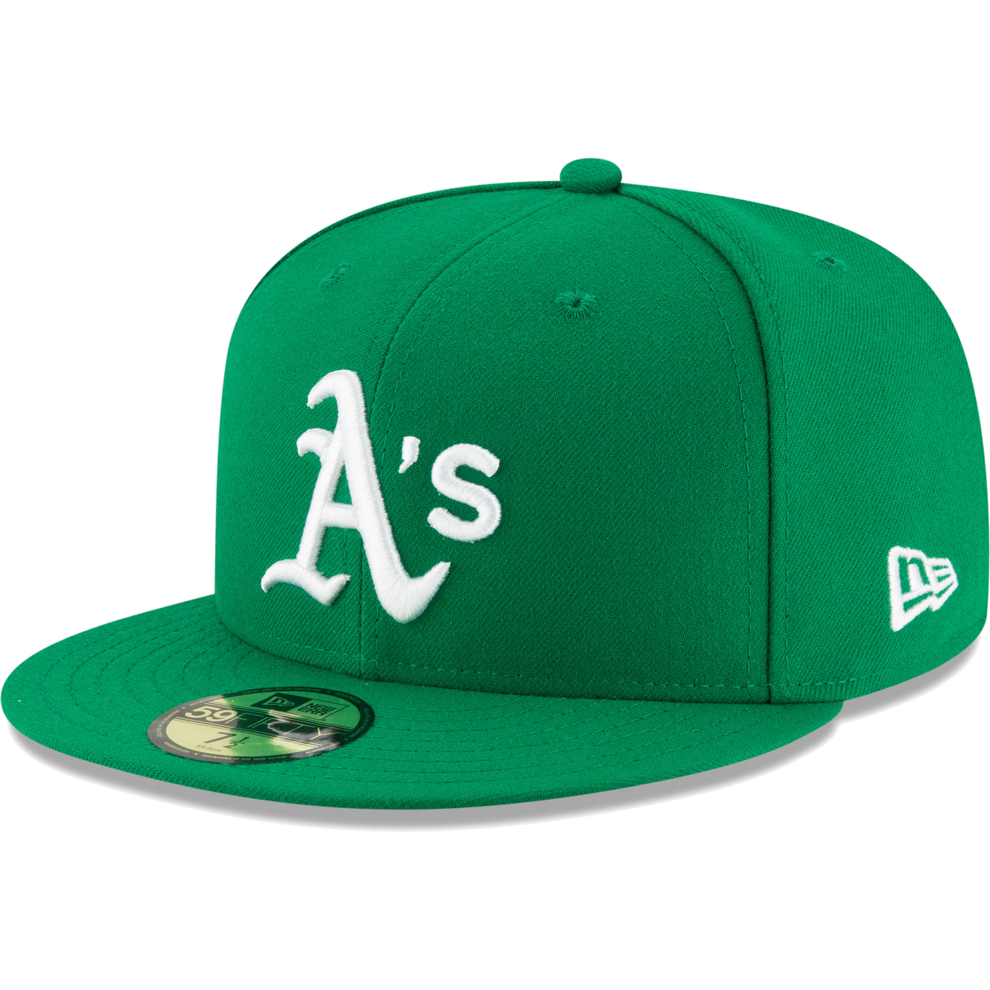 Oakland Athletics New Era Youth Authentic Collection On-Field 59FIFTY Fitted Hat - Green