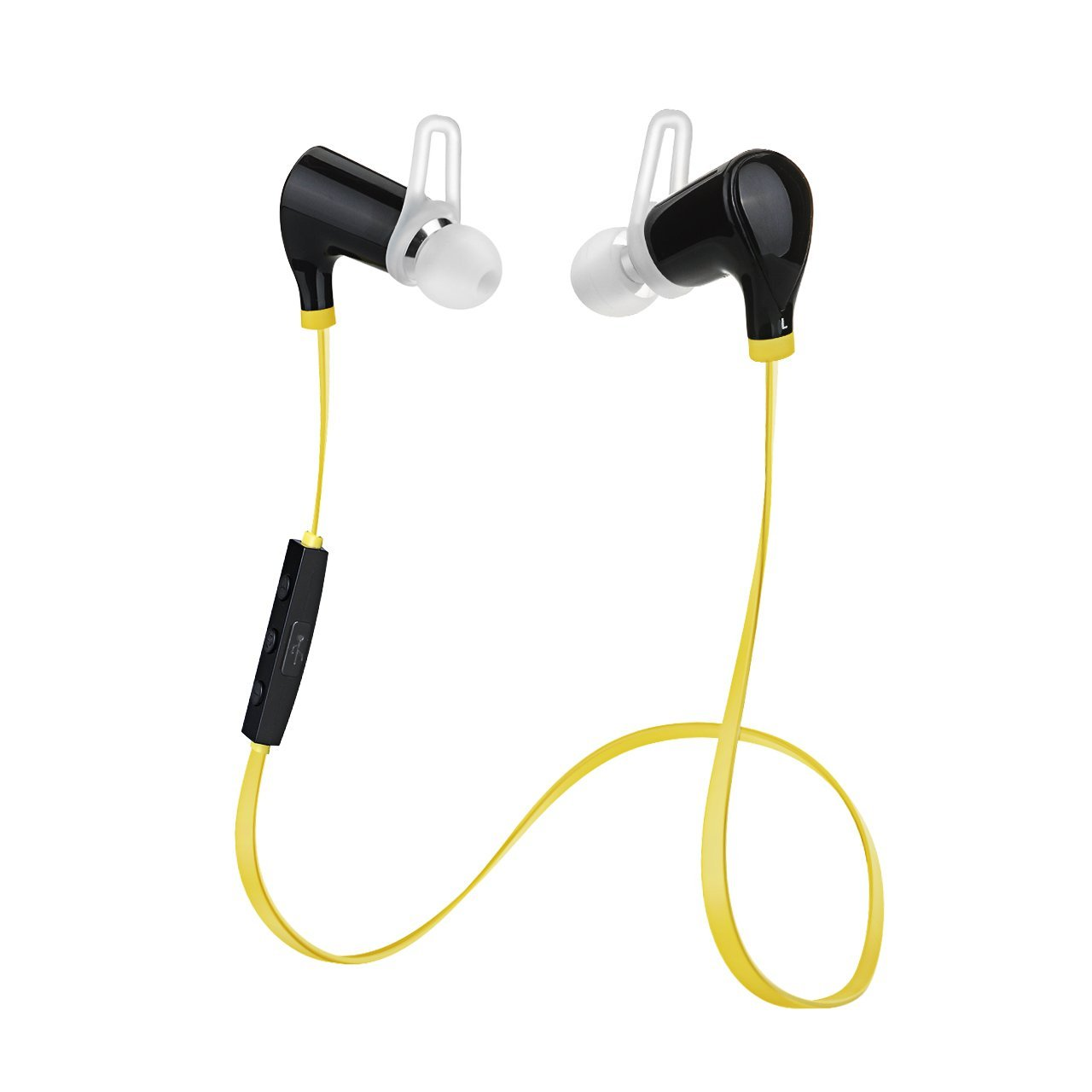 VicTsing QCY Bluetooth Headphone W/ Microphone Lightweight Wireless Stereo Earbuds