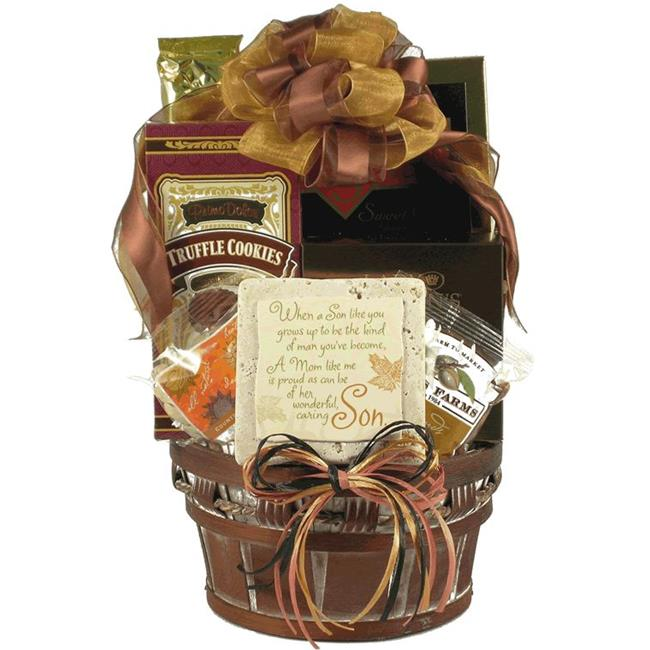 Gift Basket Village MoSo Mothers and Sons  Gift Basket from Mom to Son