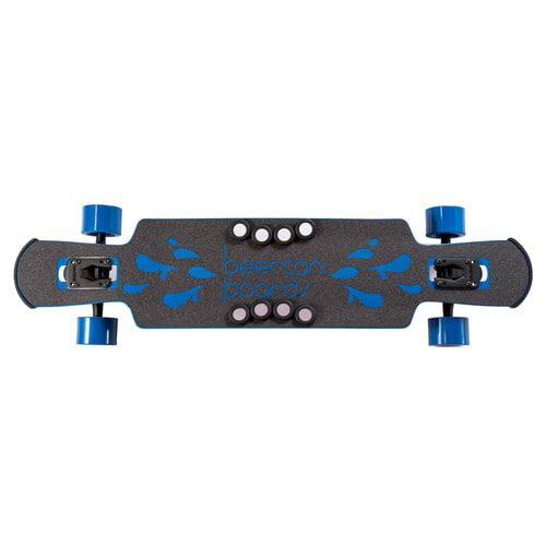 "37"" Blue Kegger Lite Complete Longboard, Double Drop by Beercan Boards"