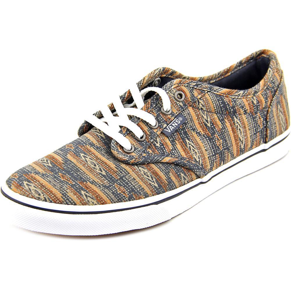 2771ac0cce9 VANS - Vans Atwood Low Women Round Toe Canvas Brown Skate Shoe - Walmart.com