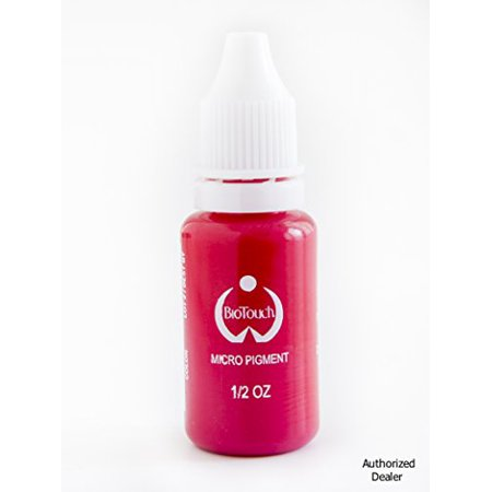 BioTouch Permanent Makeup Pigment Color HOT PINK Cosmetic Tattoo ink 0.5 oz
