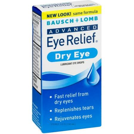 Bausch & Lomb Advanced Eye Relief Dry Eye Lubricant Eye Drops 1oz