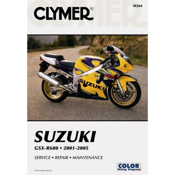 repair manual for suzuki gsx-r600 gsxr-600 01-05, whether it is simple  maintenance or complete restoration, do not start work without clymer,  the  ,
