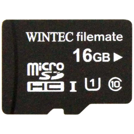 Class Mobile - FileMate Mobile Professional 16GB Class 10 MicroSDHC Card with Adapter