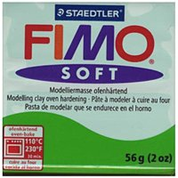 fimo soft polymer clay (tropical green)