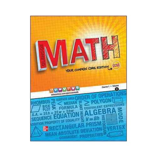 Glencoe Math Course 1, Student Edtiion, Volume 2
